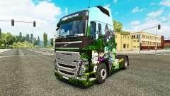 Minecraft pele para a Volvo caminhões