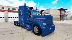 Pele Excelência para o caminhão Peterbilt 389