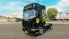 O Borussia Dortmund pele para o Scania truck