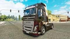 Anjo da pele para a Volvo caminhões