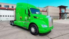 Boyd Transporte de pele para o caminhão Peterbil