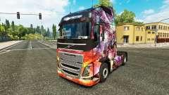 A princesa do Dragão pele para a Volvo caminhões