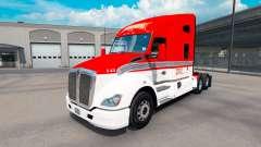 Pele Lexan Transporte de trator Kenworth T680