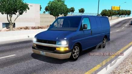 Chevrolet Express para o tráfego para American Truck Simulator