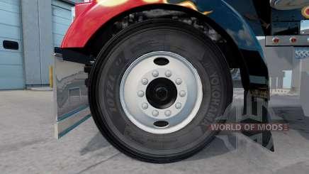 Real pneus v2.0 para American Truck Simulator
