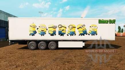 Pele Asseclas no trailer para Euro Truck Simulator 2