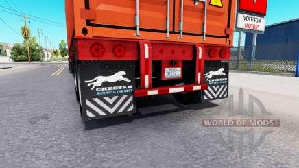 Atualizado lama retalhos de semi-reboques para American Truck Simulator