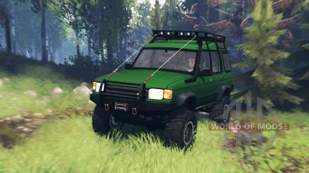 Land Rover Discovery v5.0 para Spin Tires