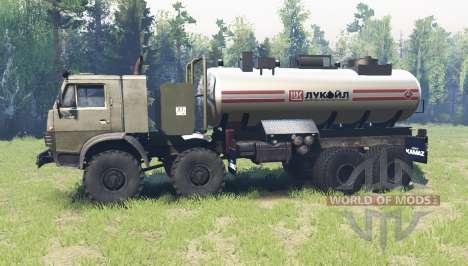 KamAZ 6350 para Spin Tires