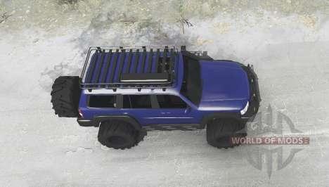Nissan Patrol GU (Y61) 2004 para Spintires MudRunner