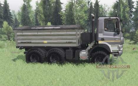 Tatra Phoenix T158-8P5 6x6 2011 dark grey para Spin Tires
