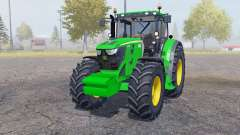 John Deere 6210R weight para Farming Simulator 2013