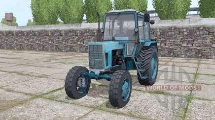 MTZ 80 Bielorrússia trator com carregador frontal para Farming Simulator 2017