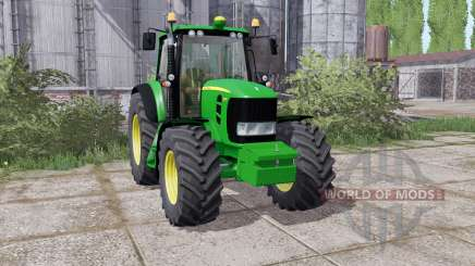 John Deere 7430 Premium 2007 washable para Farming Simulator 2017