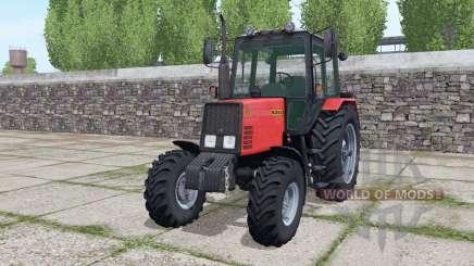 MTZ-952 Bielorrússia com carregador para Farming Simulator 2017