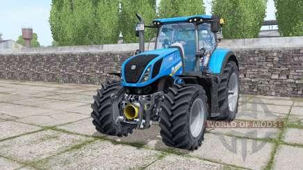 New Holland T7.290 Michelin XeoBib para Farming Simulator 2017