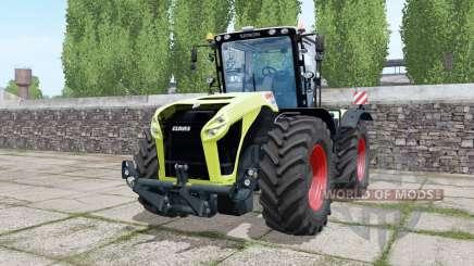Claas Xerion 5000 Trac VC double wheels para Farming Simulator 2017