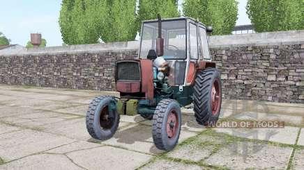 YUMZ 6КЛ com a escolha de rodas para Farming Simulator 2017