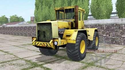 Kirovets K-702 com a escolha do motor para Farming Simulator 2017