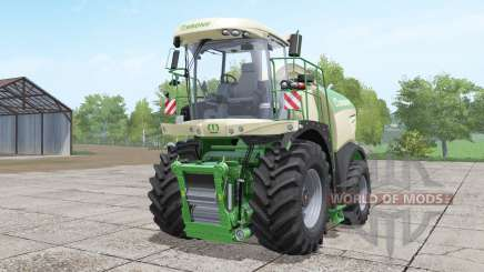 Krone BiG X 580 long pipe para Farming Simulator 2017