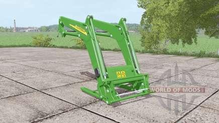 John Deere front loader para Farming Simulator 2017