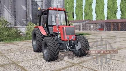 Bielorrússia 826 com uma grande variedade de configurações para Farming Simulator 2017