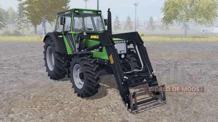 Deutz DX 90 front loader para Farming Simulator 2013