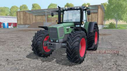 Fendt Favorit 824 Turboshift add weight para Farming Simulator 2015