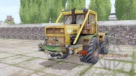 Kirovets K-700A com uma opção de motor para Farming Simulator 2017