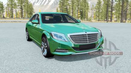 Mercedes-Benz S 500 (W222) 2013 para BeamNG Drive