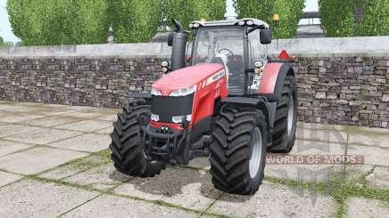 Massey Ferguson 8732 More Realistic para Farming Simulator 2017