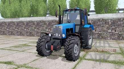 MTZ-1221 Bielorrússia é temperado-azul para Farming Simulator 2017