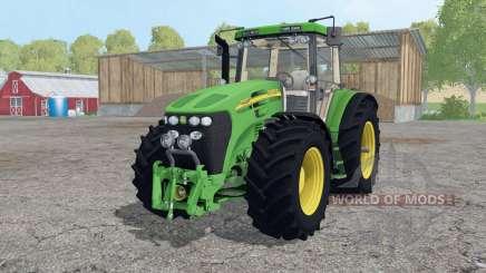 John Deere 7920 wheels weights para Farming Simulator 2015