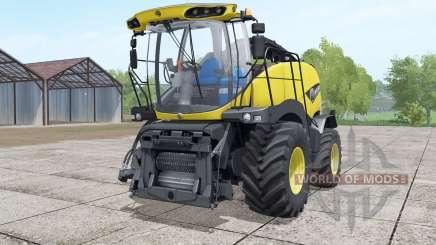 New Holland FR850 design selection para Farming Simulator 2017