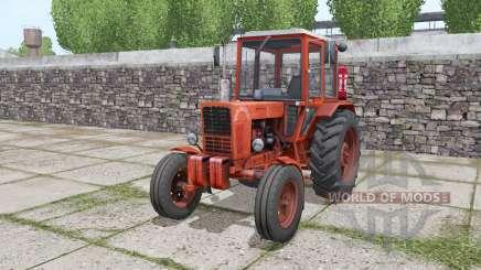 MTZ 80 Bielorrússia trator de pneus rodas duplas para Farming Simulator 2017
