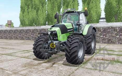 Deutz-Fahr Agrotron 7230 TTV xenon light para Farming Simulator 2017