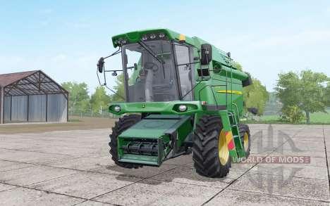 John Deere W330 retexture para Farming Simulator 2017