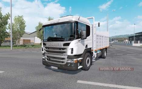 Scania P310 with trailer para Euro Truck Simulator 2
