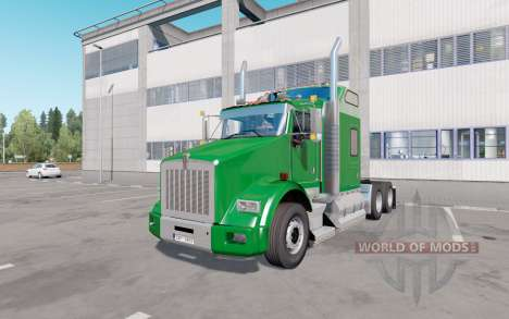 Kenworth T800 2005 v1.1 para Euro Truck Simulator 2
