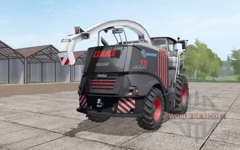 Claas Jaguar 930 Gavazzoni Black para Farming Simulator 2017