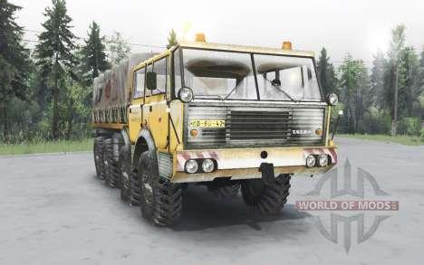 Tatra T813 TP 8x8 1967 inverno v1.4.1 para Spin Tires