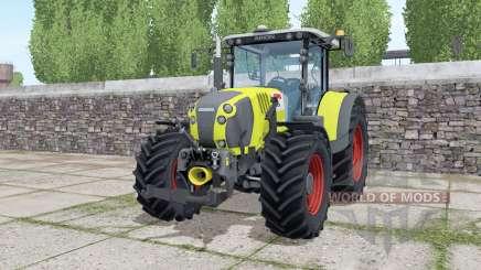 Claas Arion 650 loader montieren para Farming Simulator 2017