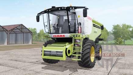 Claas Lexion 780 yellow-green with headers para Farming Simulator 2017