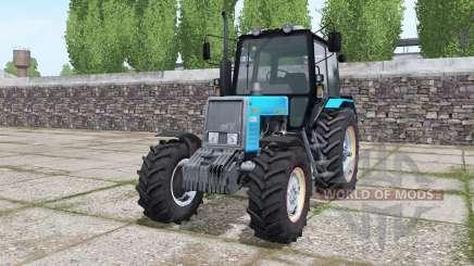 MTZ 820.2 Bielorrússia azul brilhante para Farming Simulator 2017