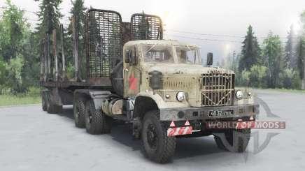 KrAZ 258Б para Spin Tires