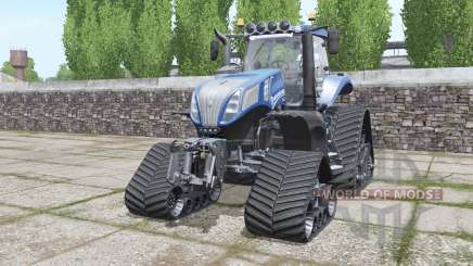 New Holland T8.320 crawler para Farming Simulator 2017