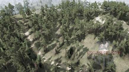 Backwoods para MudRunner