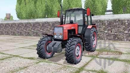 MTZ-1221 Bielorrússia com animação de peças para Farming Simulator 2017