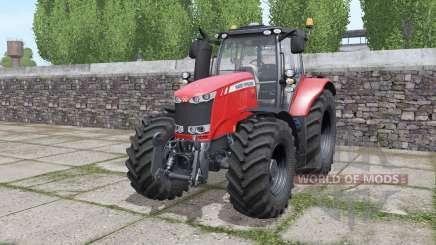 Massey Ferguson 7720 interactive control para Farming Simulator 2017