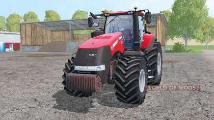 Case IH Magnum 380 double wheels para Farming Simulator 2015